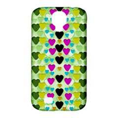 Summer Time In Lovely Hearts Samsung Galaxy S4 Classic Hardshell Case (pc+silicone) by pepitasart