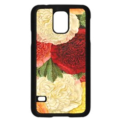 Flowers 1776429 1920 Samsung Galaxy S5 Case (black) by vintage2030