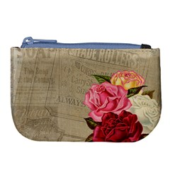 Flower 1646069 1920 Large Coin Purse by vintage2030