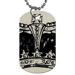Crown 1515871 1280 Dog Tag (two Sides) by vintage2030