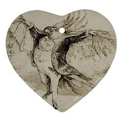 Bird 1515866 1280 Heart Ornament (two Sides) by vintage2030