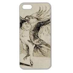 Bird 1515866 1280 Apple Seamless Iphone 5 Case (clear) by vintage2030