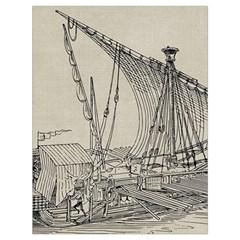 Ship 1515860 1280 Drawstring Bag (large) by vintage2030