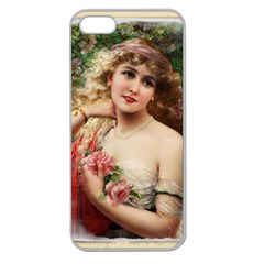 Vintage 1501576 1280 Apple Seamless Iphone 5 Case (clear) by vintage2030