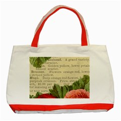 Flowers 1776422 1920 Classic Tote Bag (red) by vintage2030
