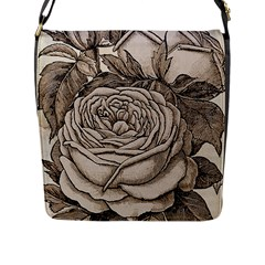 Flowers 1776630 1920 Flap Messenger Bag (l)  by vintage2030