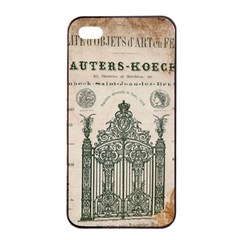 Building News Apple Iphone 4/4s Seamless Case (black) by vintage2030