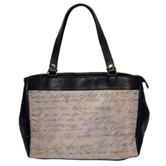 Letter Office Handbags by vintage2030