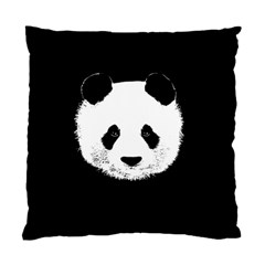 Panda  Standard Cushion Case (one Side) by Valentinaart