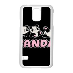 Panda  Samsung Galaxy S5 Case (white) by Valentinaart