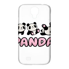 Panda  Samsung Galaxy S4 Classic Hardshell Case (pc+silicone) by Valentinaart