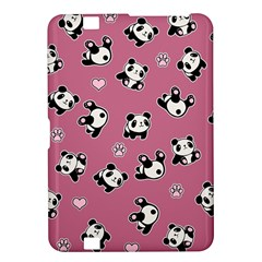 Panda Pattern Kindle Fire Hd 8 9  by Valentinaart