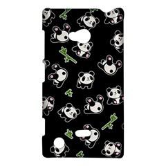 Panda Pattern Nokia Lumia 720 by Valentinaart