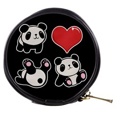 Panda Mini Makeup Bags by Valentinaart