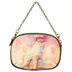 Baby In Clouds Chain Purses (two Sides)  by vintage2030