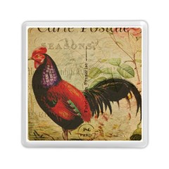 Rooster Memory Card Reader (square)  by vintage2030