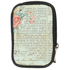 Rose Book Page Compact Camera Cases by vintage2030