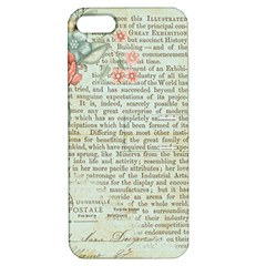 Rose Book Page Apple Iphone 5 Hardshell Case With Stand by vintage2030