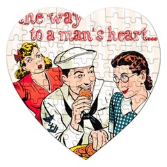 Retro 1326258 1920 Jigsaw Puzzle (heart) by vintage2030