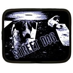 Street Dogs Netbook Case (xxl)  by Valentinaart