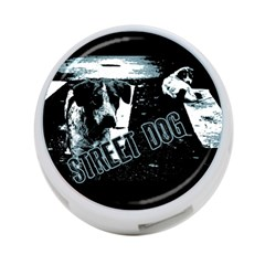 Street Dogs 4 Port Usb Hub (two Sides)  by Valentinaart