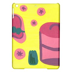 Candy Pink Hat Ipad Air Hardshell Cases by snowwhitegirl