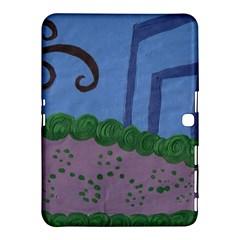 Purple Shoe Samsung Galaxy Tab 4 (10 1 ) Hardshell Case  by snowwhitegirl