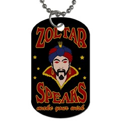 Zoltar Speaks Dog Tag (two Sides) by Valentinaart