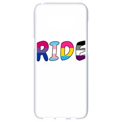 Pride Samsung Galaxy S8 White Seamless Case by Valentinaart