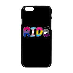 Pride Apple Iphone 6/6s Black Enamel Case by Valentinaart