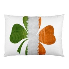 Irish Clover Pillow Case by Valentinaart