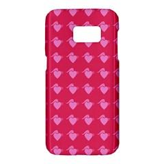 Punk Heart Pink Samsung Galaxy S7 Hardshell Case  by snowwhitegirl