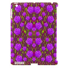 Roses Dancing On A Tulip Field Of Festive Colors Apple Ipad 3/4 Hardshell Case (compatible With Smart Cover) by pepitasart