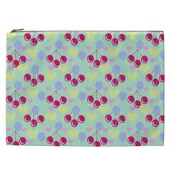 Birthday Cherries Cosmetic Bag (xxl)  by snowwhitegirl