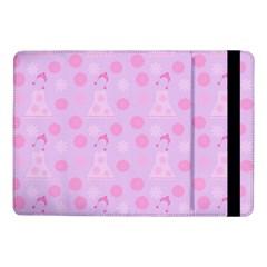 Lilac Dress Samsung Galaxy Tab Pro 10 1  Flip Case by snowwhitegirl