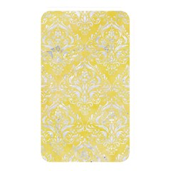 Damask1 White Marble & Yellow Watercolor Memory Card Reader by trendistuff