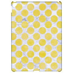 Circles2 White Marble & Yellow Watercolor (r) Apple Ipad Pro 12 9   Hardshell Case by trendistuff
