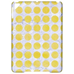 Circles1 White Marble & Yellow Watercolor (r) Apple Ipad Pro 9 7   Hardshell Case by trendistuff