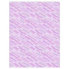 Silly Stripes Lilac Drawstring Bag (large) by snowwhitegirl