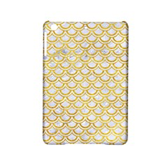 Scales2 White Marble & Yellow Marble (r) Ipad Mini 2 Hardshell Cases by trendistuff