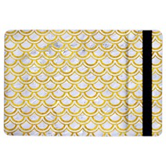 Scales2 White Marble & Yellow Marble (r) Ipad Air 2 Flip by trendistuff