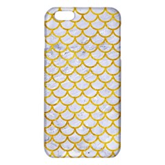 Scales1 White Marble & Yellow Marble (r) Iphone 6 Plus/6s Plus Tpu Case by trendistuff