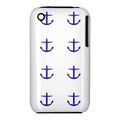 Royal Anchors On White Iphone 3s/3gs