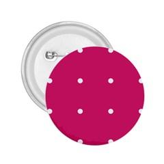 Small Pink Dot 2 25  Buttons by snowwhitegirl