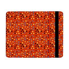 Red Retro Dots Samsung Galaxy Tab Pro 8 4  Flip Case by snowwhitegirl