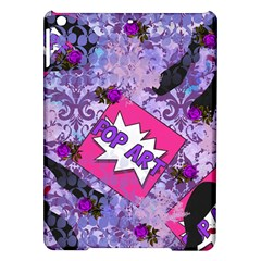 Purple Retro Pop Ipad Air Hardshell Cases by snowwhitegirl