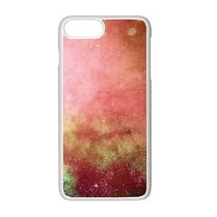 Galaxy Red Apple Iphone 7 Plus Seamless Case (white) by snowwhitegirl