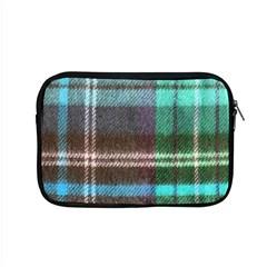 Blue Plaid Flannel Apple Macbook Pro 15  Zipper Case by snowwhitegirl
