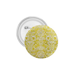 Damask2 White Marble & Yellow Leather 1 75  Buttons by trendistuff