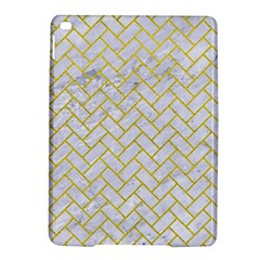 Brick2 White Marble & Yellow Leather (r) Ipad Air 2 Hardshell Cases by trendistuff
